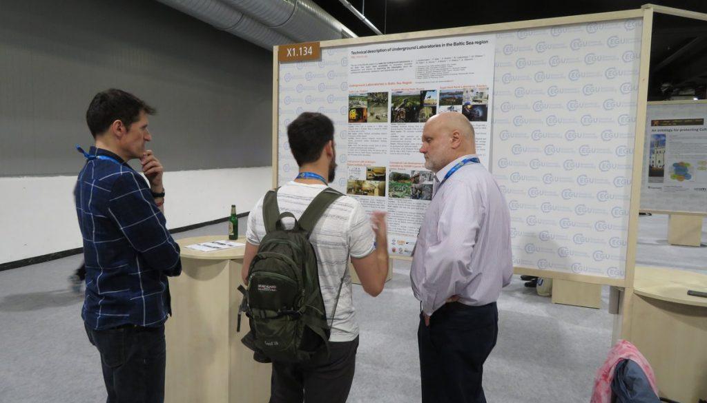 BSUIN presented poster in EGU