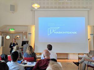 Project meeting at Äspö Hard Rock Laboratory.